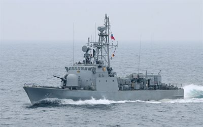 CNS ORELLA, LM-37, Chilean Navy, Rocket boat, Chile, warships, corvette