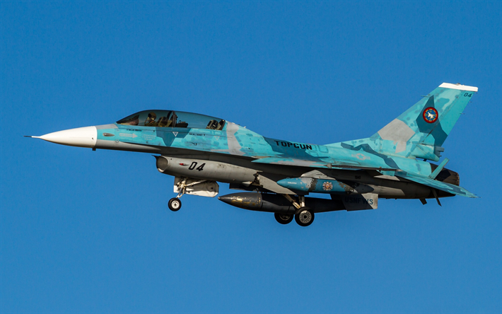 Download Wallpapers General Dynamics F-16 Fighting Falcon