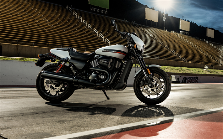 Harley-Davidson Street Rod, raceway, 2019 bikes, superbikes, classic motorcycles, american motorcycles, Harley-Davidson