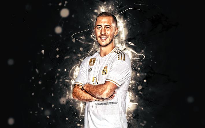 Download Wallpapers Eden Hazard Season 2019 2020 Belgian