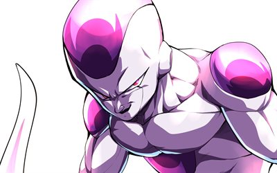 4k, Freeza, minimal, Dragon Ball, close-up, DBS, Dragon Ball Super, 4K Freeza