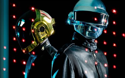 Daft Punk, night club, musicista francese, superstar, Thomas Bangalter, star della musica, Guillaume Emmanuel de Homem-Christo