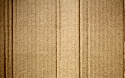 brown cardboard texture, 4k, macro, cardboard, cardboard textures, brown carton background, carton textures
