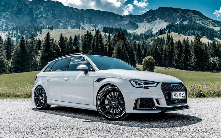 download wallpapers abt, tuning, 4k, audi rs3 sportback, 2018 cars