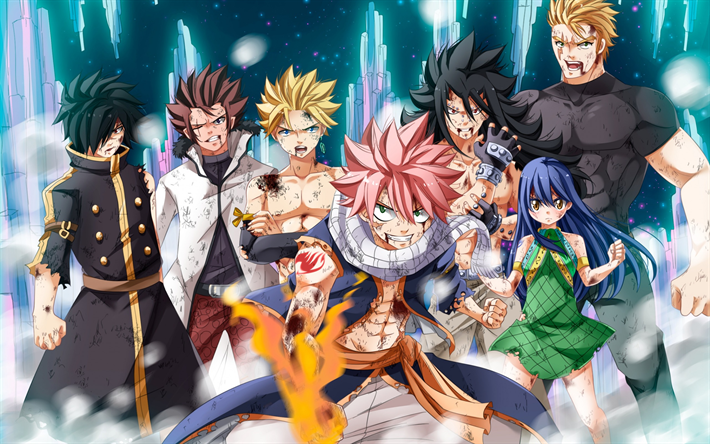 Telecharger Fonds D Ecran Fairy Tail Manga Japonais Les
