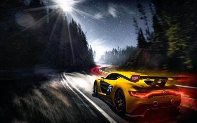 Download wallpapers Renault Sports RS 01, night, hypercars