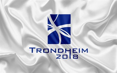 Trondheim 2018, emblem, logo, Winter paralympics 2018, Norway, XII Paralympic Winter Games