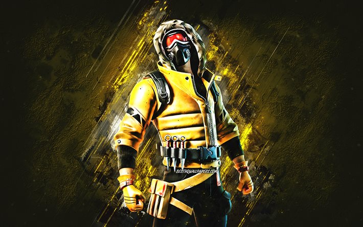 Download Wallpapers Fortnite Caution Skin Fortnite Main Characters Yellow Stone Background Caution Fortnite Skins Caution Skin Caution Fortnite Fortnite Characters For Desktop Free Pictures For Desktop Free