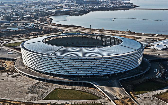 Herunterladen Hintergrundbild Baku Olympic Stadium Baku