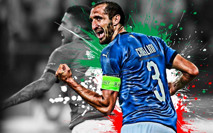 Indir Duvar Kağıdı Italyanın Giorgio Chiellini Italya Milli Futbol