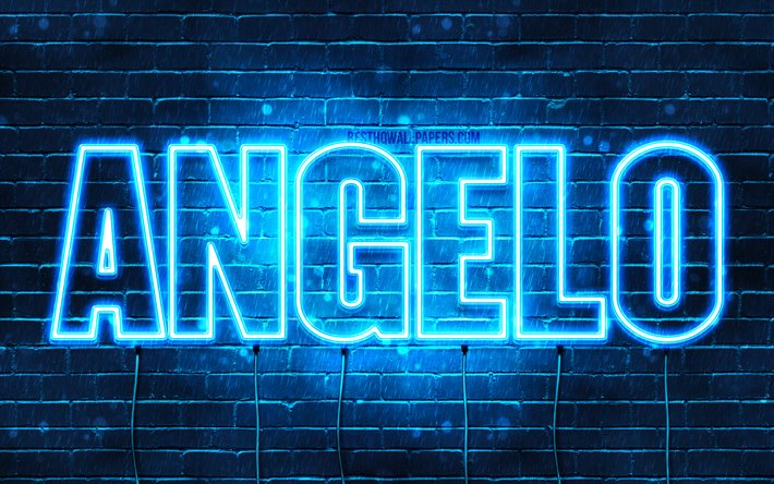 Download wallpapers Angelo, 4k, wallpapers with names ...