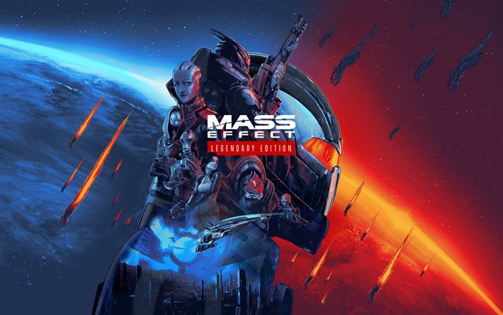 Mass Effect Legendary Edition, 2021, poster, promo, serie Mass Effect, nuovi giochi, Mass Effect