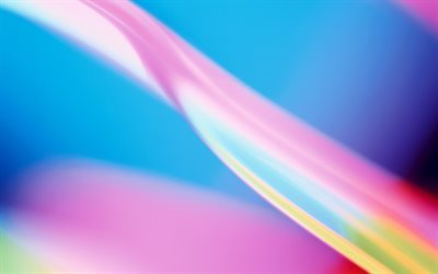 Aero Colorful background, abstract wave, colorful wave