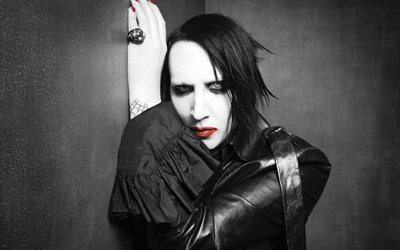 Marilyn Manson, 2017, rock band, superstars, celebrity