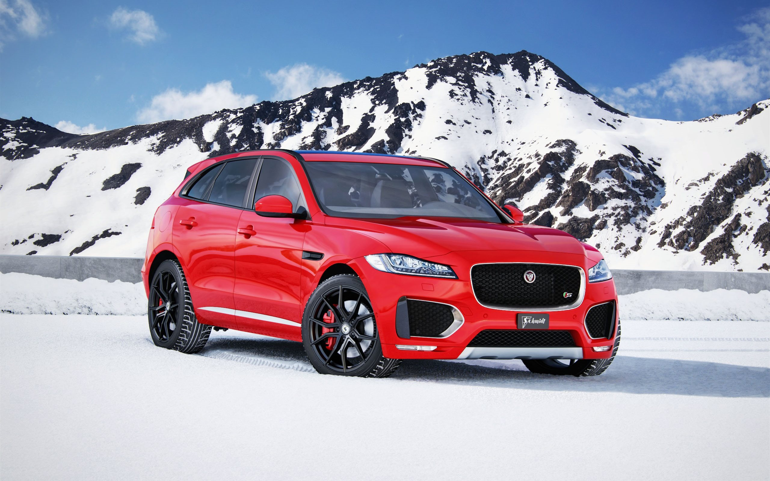 download wallpapers jaguar f pace s 2017 schmidt tuning. Black Bedroom Furniture Sets. Home Design Ideas