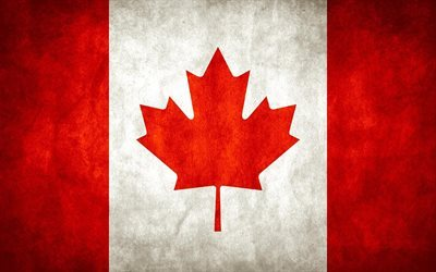 Canada, Canadian flag, flag of Canada, flags of the world, North America