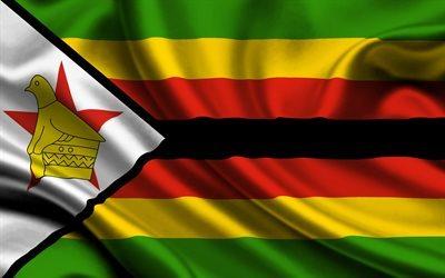 Download wallpapers Zimbabwe Zimbabwean flag national