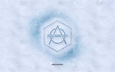 Don Diablo logo, winter concepts, snow texture, snow background, Don Diablo emblem, Don Pepijn Schipper, winter art, Don Diablo