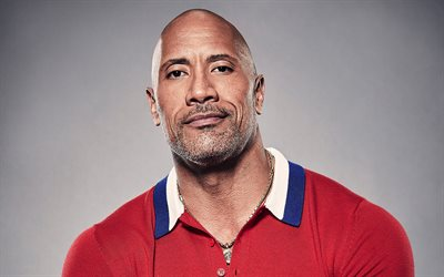 Dwayne Johnson, portrait, american actor, photoshoot, smile, american wrestler, popular actors, Hollywood