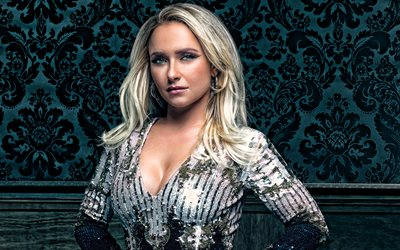 Hayden Panettiere, American actress, portrait, photoshoot, beautiful dress, american star, Hollywood