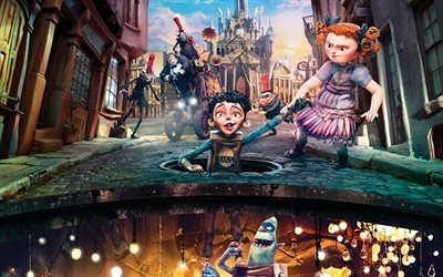 The Boxtrolls, American cartoons, dolls