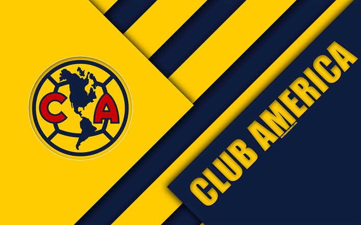 download wallpapers club america 4k mexican football