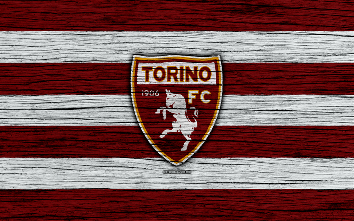 Download wallpapers torino 4k serie a logo italy for Logos space torino