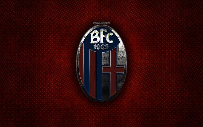 Download wallpapers Bologna FC, Italian football club, red ...
