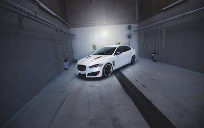 2M-Designs, tuning, Jaguar XF, luxury cars, garage, Jaguar