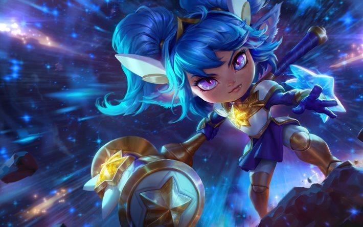 League Of Legends Poppy Wallpaper: Download Wallpapers Poppy, Art, Heroes, League Of Legends