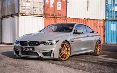 Download Wallpapers G Power Tuning 4k Bmw M4 Cs 2018 Cars F82 Bmw M4 German Cars Bmw For Desktop Free Pictures For Desktop Free