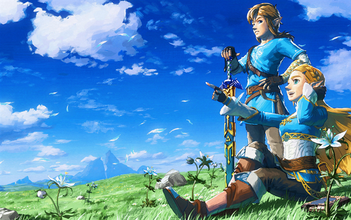 Download Wallpapers The Legend Of Zelda Breath Of The Wild