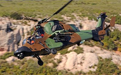 Eurocopter Tiger, Tiger HAD, PAH-2, EC 665 Tiger, attack helicopter, Air Force of Germany, military helicopters, combat aviation