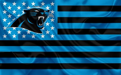 Download wallpapers Carolina Panthers American football