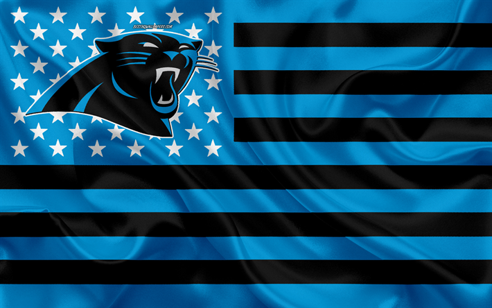 Download Wallpapers Carolina Panthers American Football Team