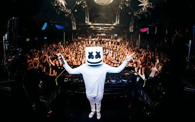 Marshmello, concert, DJ, night club