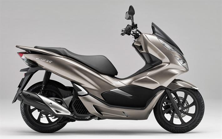 Télécharger Fonds D'écran Honda PCX150, 4k, 2019 Vélos