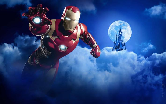 Descargar Iron Man 4 A2zp30: Descargar Fondos De Pantalla Iron Man, 4k, Los Superhéroes