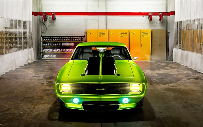 Descargar Fondos De Pantalla Chevrolet Camaro Ss 4k 1969