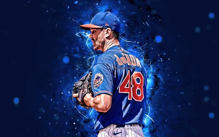 Download wallpapers Jacob deGrom, 4k, MLB, New York Mets, pitcher,  baseball, Jacob Anthony deGrom, Major League Baseball, neon lights, Jacob  deGrom New York Mets, Jacob deGrom 4K, NY Mets for desktop free.