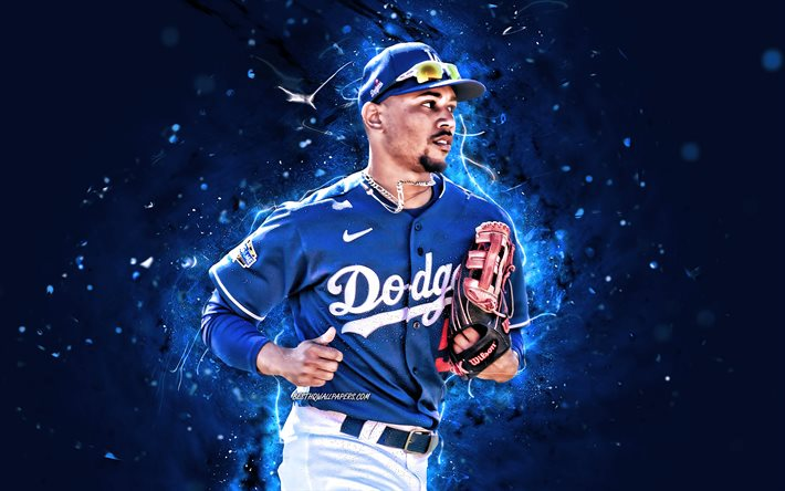Download Wallpapers Mookie Betts 4k Mlb Los Angeles Dodgers Right Fielder Baseball Markus Lynn Betts Major League Baseball Neon Lights Alex Bregman Dodgers Alex Bregman 4k La Dodgers For Desktop Free Pictures