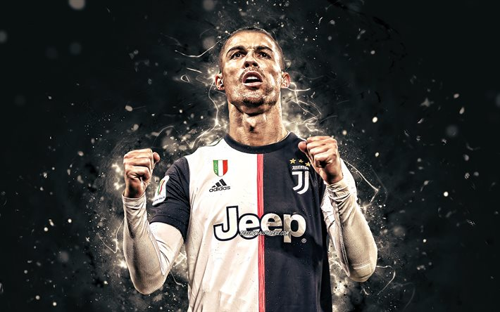 Download Wallpapers 4k Cristiano Ronaldo 2020 Juventus Fc Cr7 Joy Portuguese Footballers Italy Bianconeri Soccer New Hairstyle Football Stars Cristiano Ronaldo 4k Serie A Neon Lights Cr7 Juve For Desktop Free Pictures
