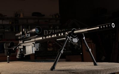 CheyTac M200, sniper rifle, American military weapon, CheyTac Intervention