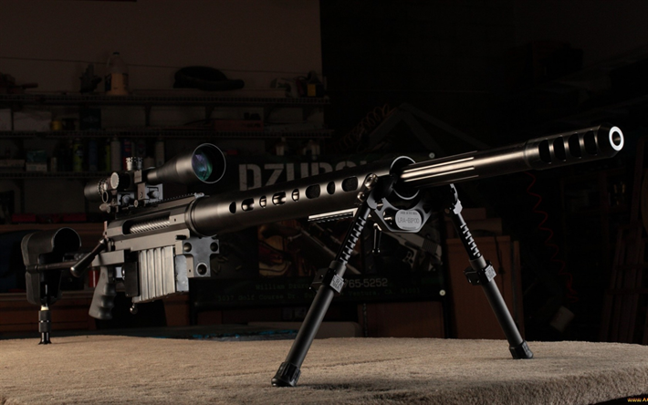 Download wallpapers CheyTac M200, sniper rifle, American