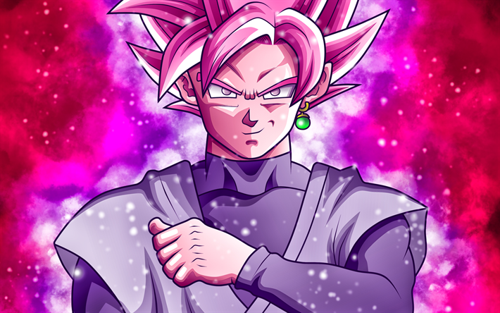 Download Wallpapers Super Saiyan Rose Art Dragon Ball Super Black Goku Manga Dbs Dragon Ball Goku For Desktop Free Pictures For Desktop Free