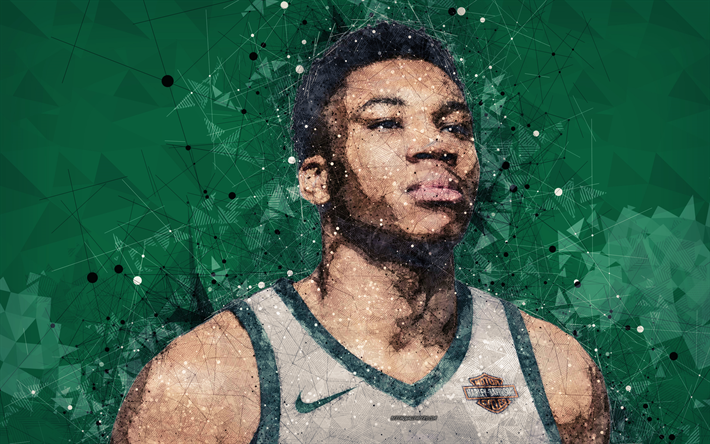 Download Wallpapers Giannis Antetokounmpo 4k Face