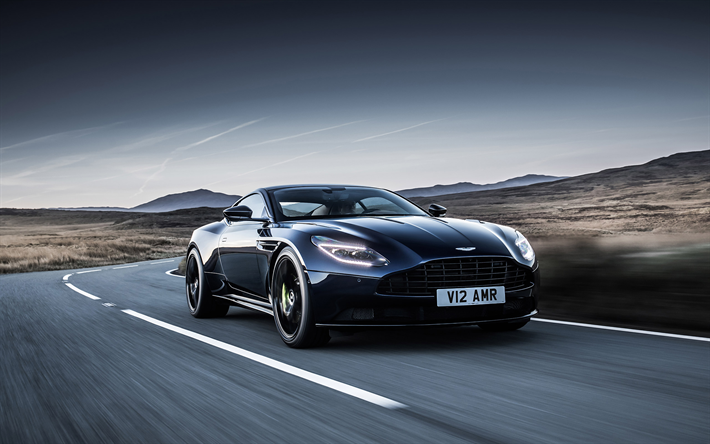 Download Wallpapers Aston Martin Db11 Amr 2019 4k 630 Hp Black Luxury Sports Car Front View Exterior Tuning Db11 British Cars Black Db11 Aston Martin For Desktop Free Pictures For Desktop Free