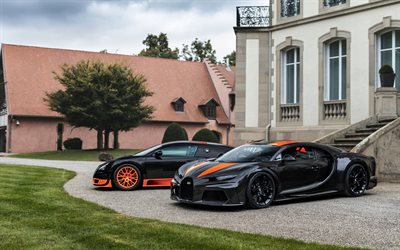 Bugatti Veyron, Super Sport World Record Edition, Bugatti Chiron, Super Sport 300 Prototype, hypercar, luxury sports cars, hypercars, Bugatti