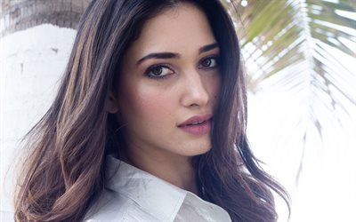 Tamanna Bhatia, portrait, Indian actress, photoshoot, beautiful woman, Indian fashion model, makeup