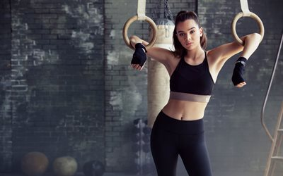 Hailee Steinfeld, Sports training, American actress, beautiful woman
